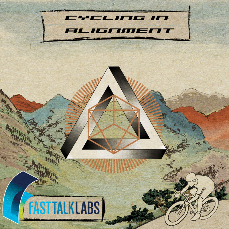 Cycling in Alignment podcast by Colby Pearce cover art