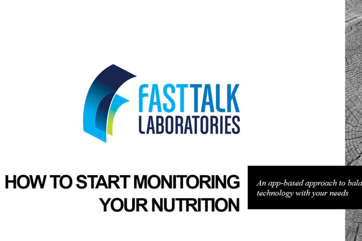 How to Monitor Your Nutrition - Fast Talk Laboratories Webinar